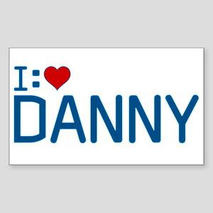 I Heart Danny Sticker (Rectangle)