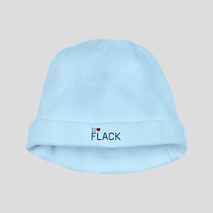 I Heart Flack baby hat
