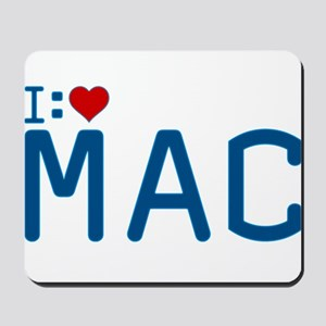 I Heart Mac Mousepad