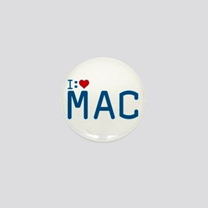 I Heart Mac Mini Button