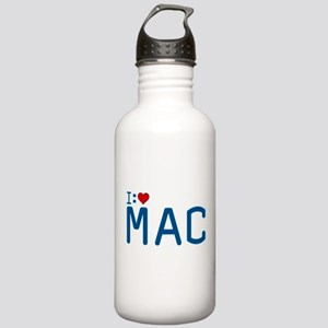 I Heart Mac Stainless Water Bottle 1.0L