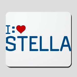 I Heart Stella Mousepad