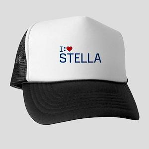 I Heart Stella Trucker Hat
