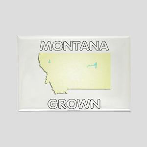 Montana grown Rectangle Magnet