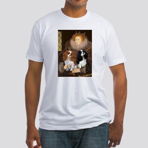 Queen / Two Cavaliers Fitted T-Shirt