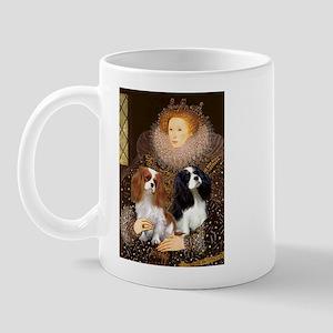 Queen / Two Cavaliers Mug
