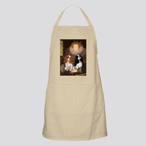 Queen / Two Cavaliers BBQ Apron