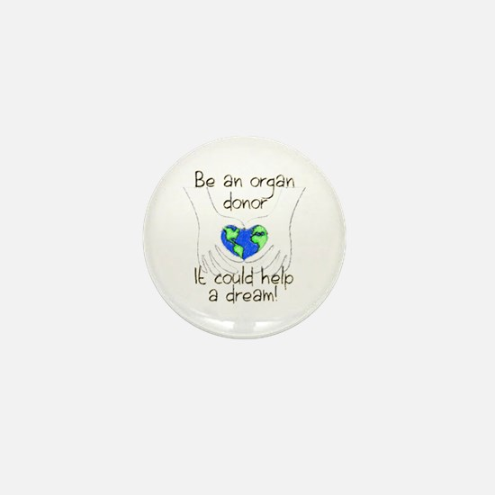 Cool Kidney donor Mini Button (100 pack)