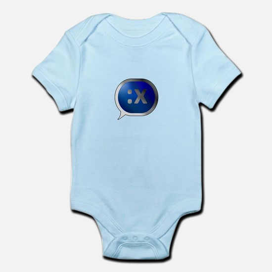 BlueCrush Silver - :x Infant Bodysuit