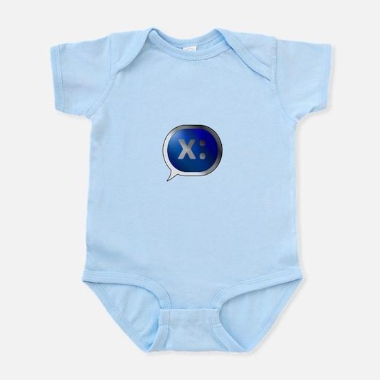 BlueCrush Silver - x: Infant Bodysuit