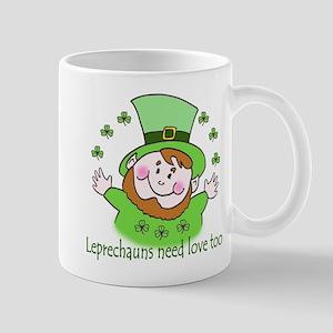 Leprechauns need love too Mug