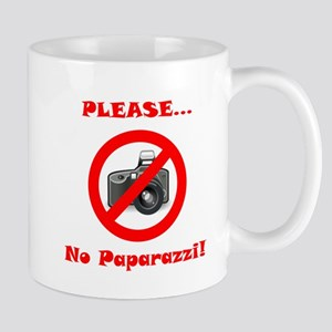 Please No Paparazzi! Mug