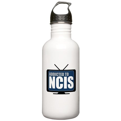 Addicted to NCIS Stainless Water Bottle 1.0L