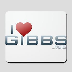 I Heart Gibbs Mousepad