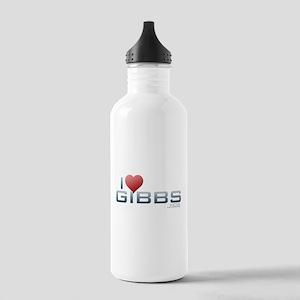 I Heart Gibbs Stainless Water Bottle 1.0L