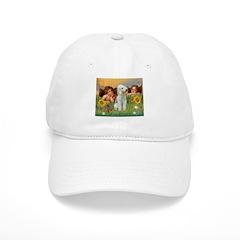 Two Angels / Bedlington Terri Baseball Cap