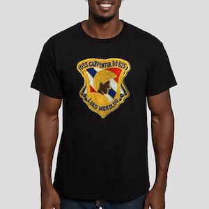 USS CARPENTER Men's Fitted T-Shirt (dark)