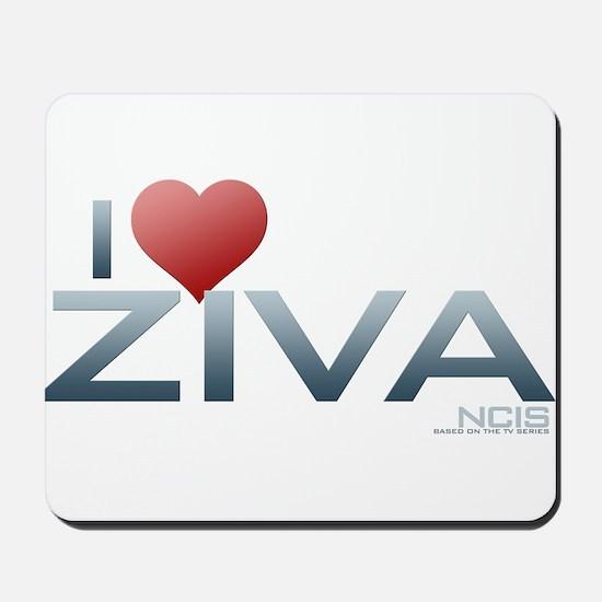 I Heart Ziva Mousepad