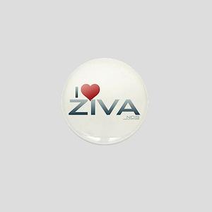 I Heart Ziva Mini Button