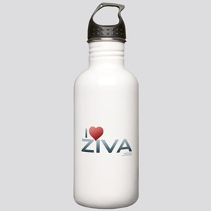 I Heart Ziva Stainless Water Bottle 1.0L