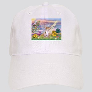 Cloud Angel & Chihuahua Cap