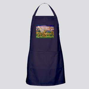 Autumn Angel & Chow Apron (dark)