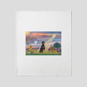Cloud Angel-Dobie 1N Throw Blanket