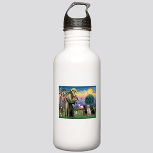 St Francis & Lab Trio Stainless Water Bottle 1.0L