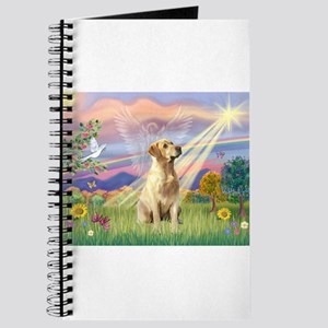 Cloud Angel & Yellow Lab Journal
