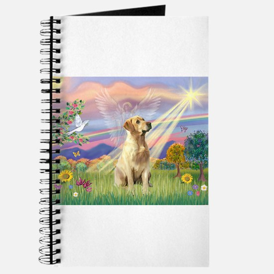 Cloud Angel & Yellow Lab Journal
