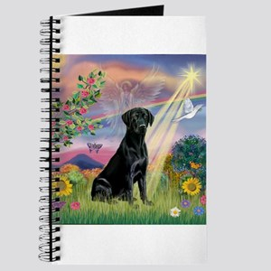 Cloud Angel & Black Lab Journal