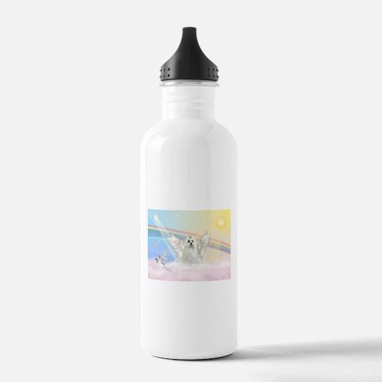 Maltese Angel (C) Water Bottle