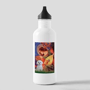 Mandolin Angel / Maltese Stainless Water Bottle 1.