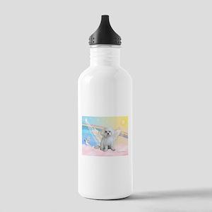 Maltese / Angel Stainless Water Bottle 1.0L