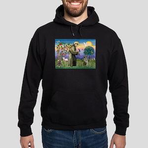 St Francis / Nor Elk Hoodie (dark)