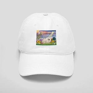 Cloud Angel & White Peke Cap