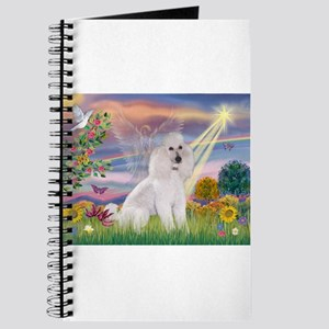 Cloud Angel White Poodle Journal