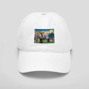 St. Francis & Pug Pair Cap