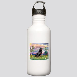 Cloud Angel / Rottweiler Stainless Water Bottle 1.
