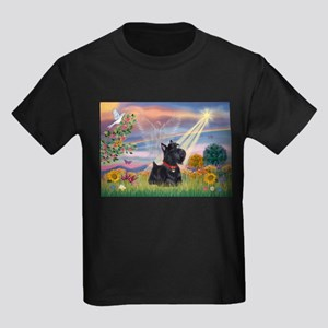 Cloud Angel & Scotty Kids Dark T-Shirt