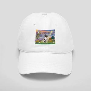 Cloud Angel /Toy Fox Terrier Cap