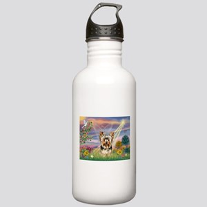Cloud Angel & Yorkie Stainless Water Bottle 1.0L