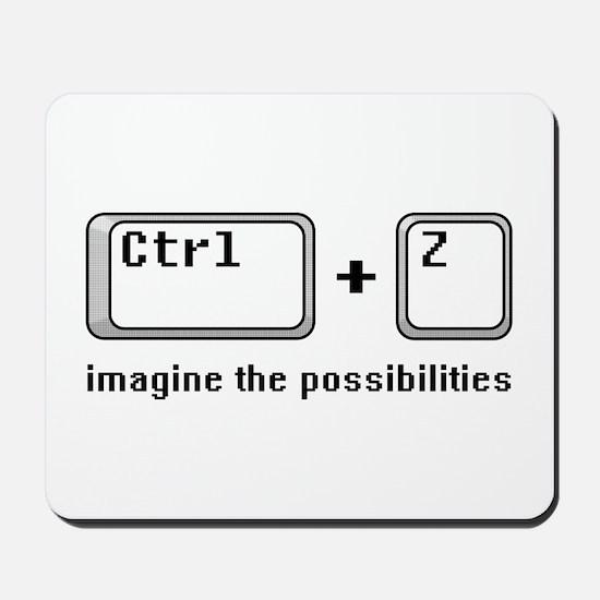 Ctrl + Z Mousepad