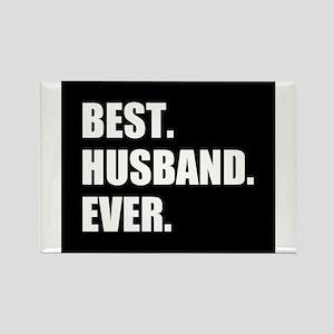 Black Best Husband Ever Magnets