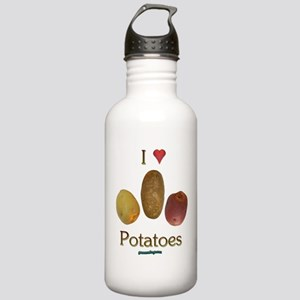 I Heart Potatoes Stainless Water Bottle 1.0L