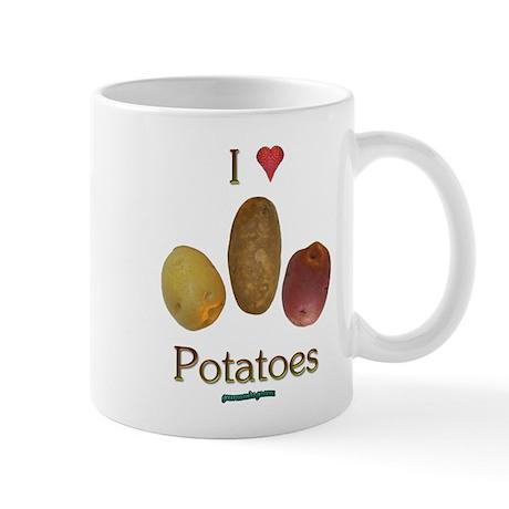 I Heart Potatoes Mug