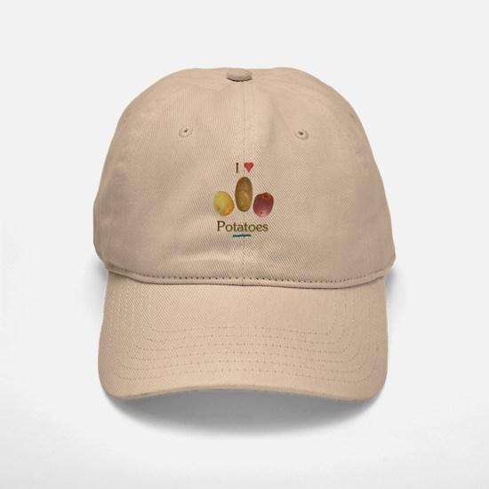 I Heart Potatoes Baseball Baseball Cap