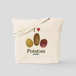 I Heart Potatoes Tote Bag