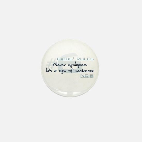 Gibbs' Rules #6 Mini Button