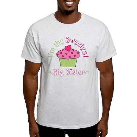 Sweetest Big Sister Light T-Shirt